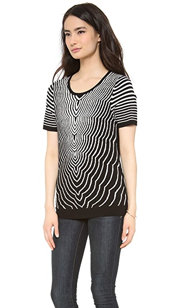 Marc by Marc Jacobs Radio Waves Sweater