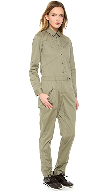 Marc by Marc Jacobs Samantha Twill Jumpsuit