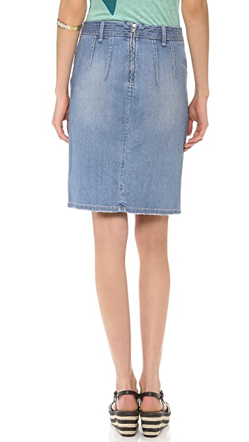 Marc by Marc Jacobs Denim Pencil Skirt