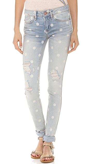 Marc by Marc Jacobs Rolled Slim Jeans