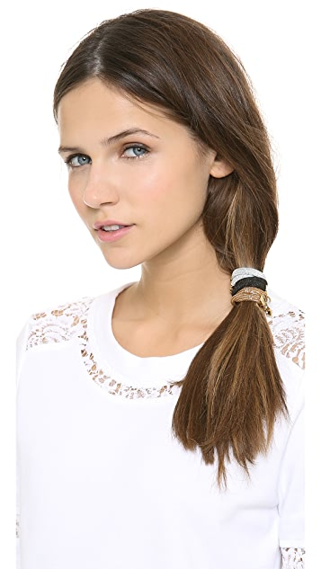 Marc by Marc Jacobs Flower Pony Hair Ties