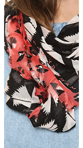 Marc by Marc Jacobs Pinwheel Scarf