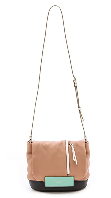 Marc by Marc Jacobs Round the Way Girl Colorblock Messenger Bag
