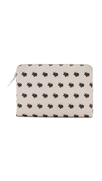 "Marc by Marc Jacobs Coated Canvas Pet 13"" Zip Case"