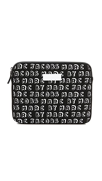 Marc by Marc Jacobs Dynamite Logo Neoprene Tablet Case