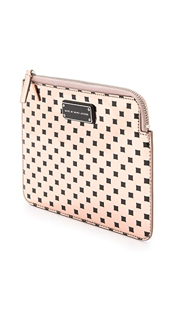 Marc by Marc Jacobs Techno Block Print Mini Tablet Zip Case