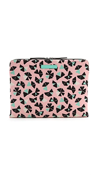 "Marc by Marc Jacobs Pinwheel Print Neoprene 13"" Laptop Zip Case"