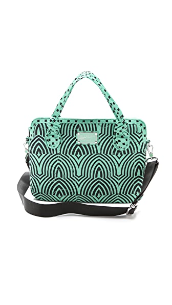"Marc by Marc Jacobs Pretty Nylon Gamma Ray Print 13"" Computer Commuter Case"