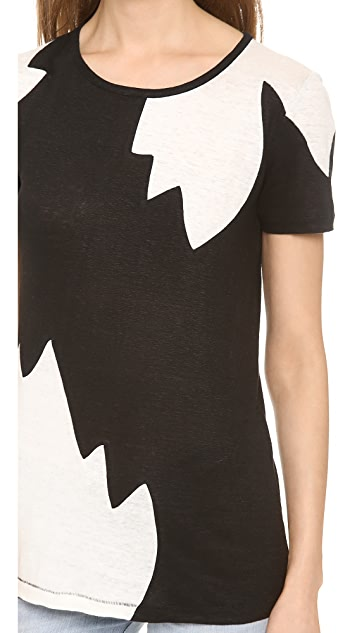 Marc by Marc Jacobs Carmen Flame T-Shirt