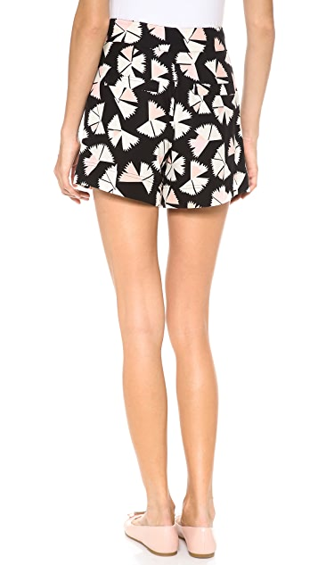 Marc by Marc Jacobs Pinwheel Flower Shorts