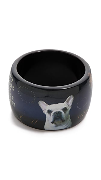 Marc by Marc Jacobs Pickles In Paris Bangle Bracelet