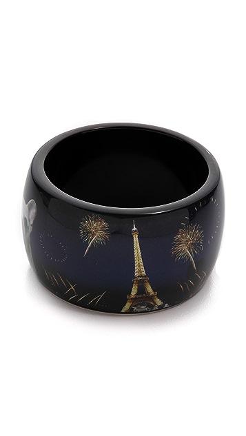 Marc by Marc Jacobs Pickles In Paris Bangle Bracelet
