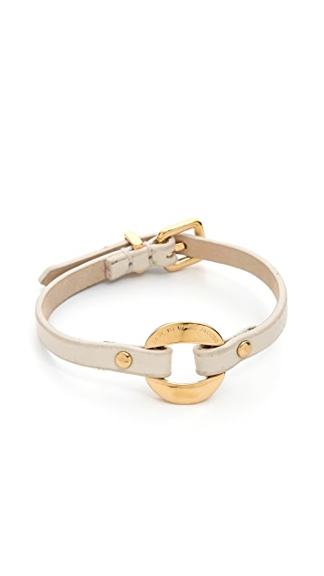 Marc by Marc Jacobs Link Leather Bracelet