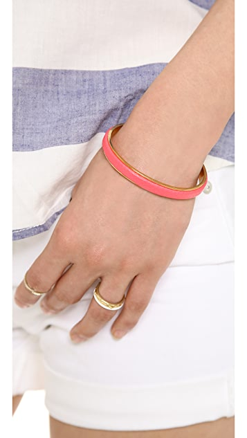 Marc by Marc Jacobs Leather Cuff Bracelet