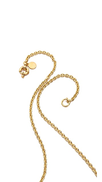 Marc by Marc Jacobs Octi Bolt Cat Pendant Necklace