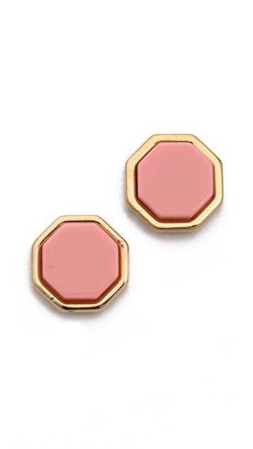 Marc by Marc Jacobs Octi Bolt Stud Earrings