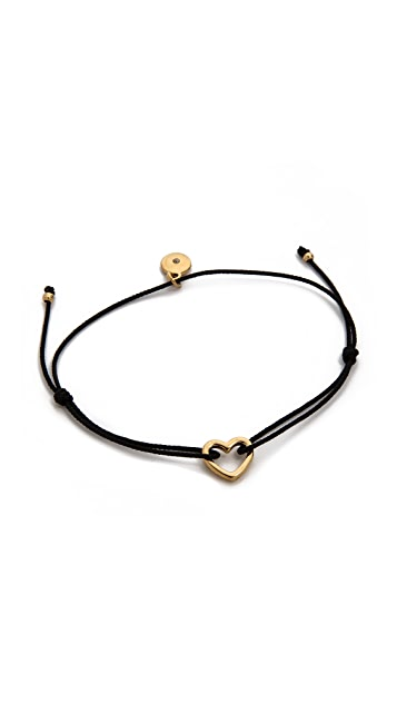 Marc by Marc Jacobs Open Heart Friendship Bracelet