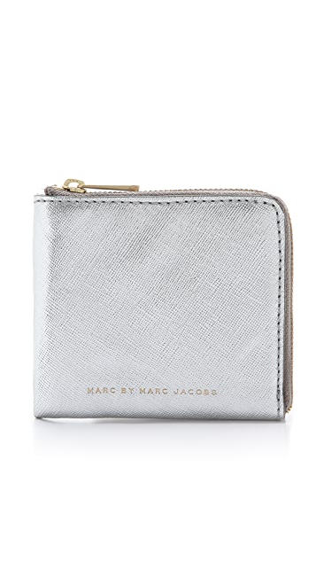 Marc by Marc Jacobs Half Zip Card Holder