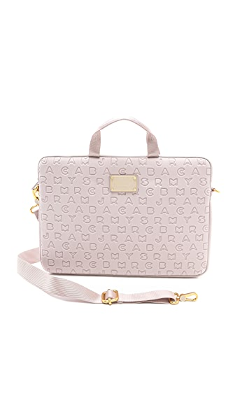 "Marc by Marc Jacobs Dreamy Logo Neoprene 15"" Computer Commuter Case"