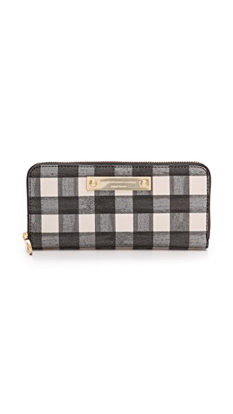 Marc by Marc Jacobs Goodbye Columbus Slim Zip Around