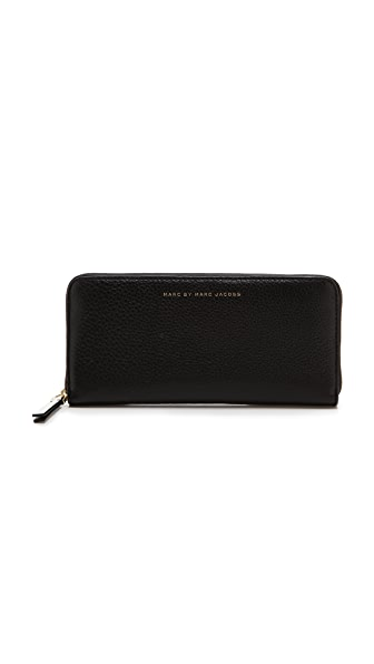 Marc by Marc Jacobs Sophisticato Slim Zip Around