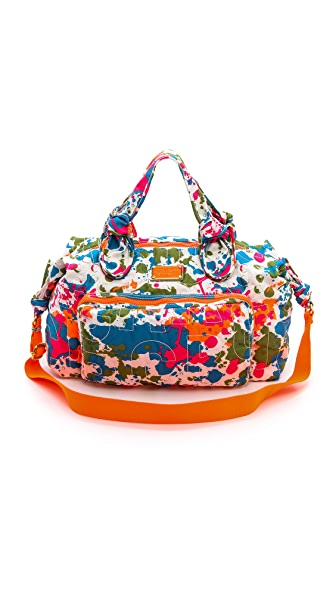 Marc by Marc Jacobs Pretty Nylon Paint Blob Weekender Bag