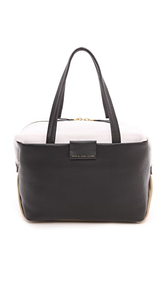 Marc by Marc Jacobs Box Medium Satchel