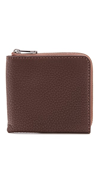 Marc by Marc Jacobs Classic Half Zip Card Holder