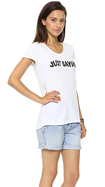 Marc by Marc Jacobs Just Sayin' T-Shirt