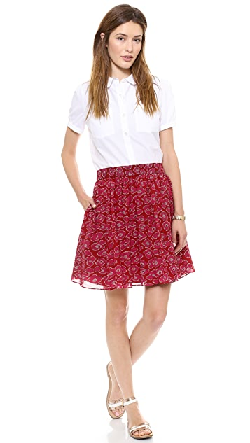Marc by Marc Jacobs Cas Print Skirt