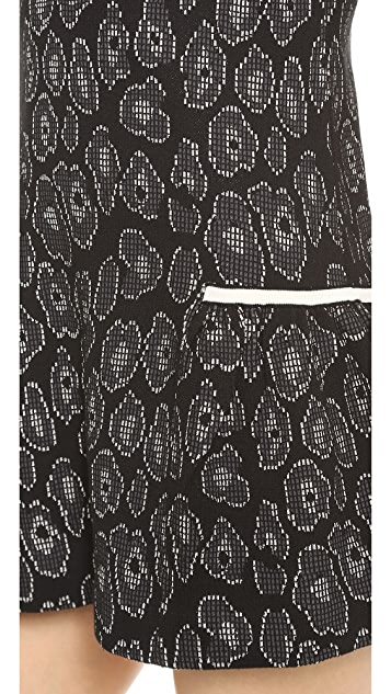 Marc by Marc Jacobs Cassidy Jacquard Sweater Dress