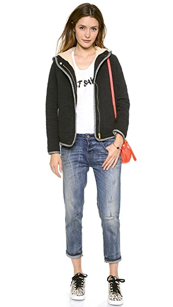 Marc by Marc Jacobs Willier Quilted Hooded Jacket