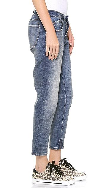 Marc by Marc Jacobs Jessie Boyfriend Crop Jeans