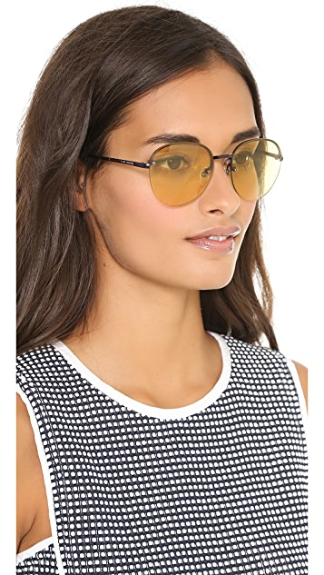 Marc by Marc Jacobs Rimless Bottom Sunglasses