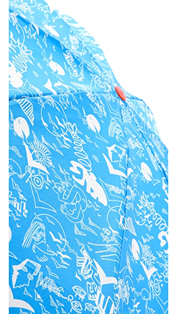 Marc by Marc Jacobs Doodle Print Umbrella