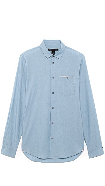Marc by Marc Jacobs Noah Chambray Sport Shirt