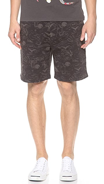 Marc by Marc Jacobs Doodle Shorts
