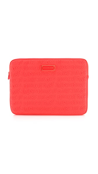 "Marc by Marc Jacobs Adults Suck Neoprene 13"" Computer Case"
