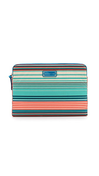 "Marc by Marc Jacobs Coated Canvas Paradise Print 13"" Computer Case"
