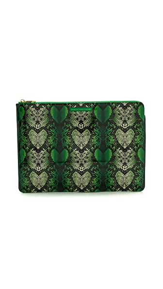 "Marc by Marc Jacobs Snake Heart 13"" Zip Case"