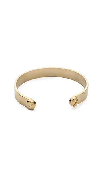 Marc by Marc Jacobs Metal Screw Cuff Bracelet