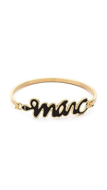 Marc by Marc Jacobs Snakey Marc Bangle Bracelet