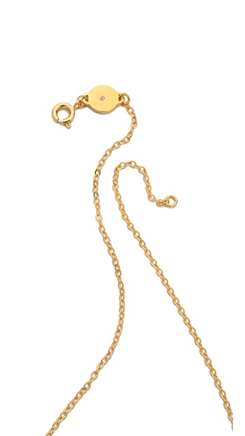 Marc by Marc Jacobs MMJ Plaque Necklace