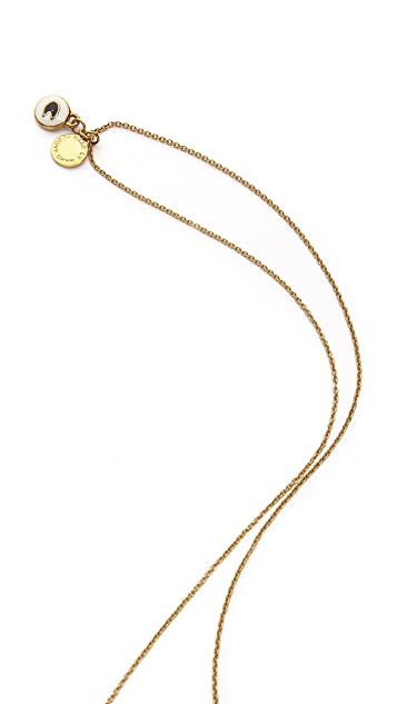Marc by Marc Jacobs Long Saftey Bead Necklace