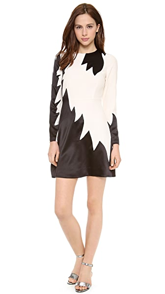 Marc by Marc Jacobs Flame Crepe Dress