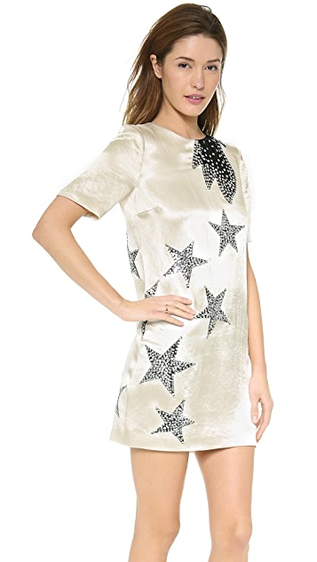 Marc by Marc Jacobs Cosmo Night Satin Dress