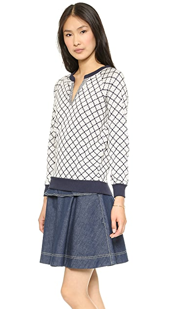 Marc by Marc Jacobs Andrea Jacquard Knit Sweater