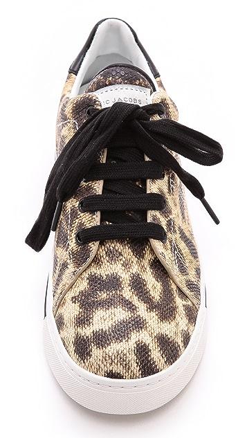 Marc by Marc Jacobs Cute Kicks Snake Embossed Sneakers