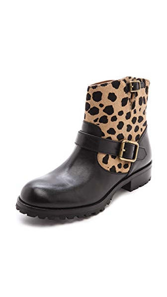 Marc by Marc Jacobs Haircalf Moto Booties