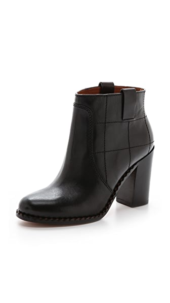 Marc by Marc Jacobs Stitched Ankle Booties